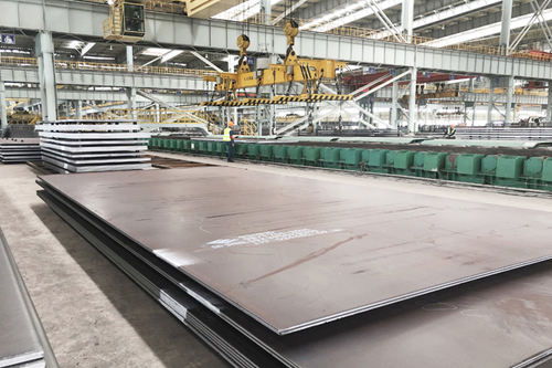 What is the grade Q355GNH steel?