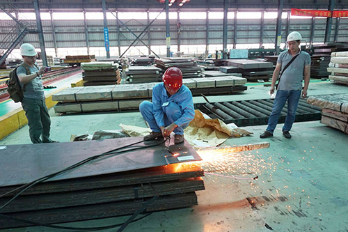 EN 10155 S355J0WP weather resistant steel plate