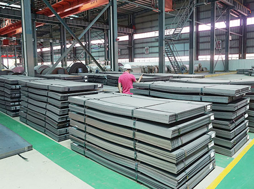 EN 10025-5 S355J0WP weather resistant steel supplier