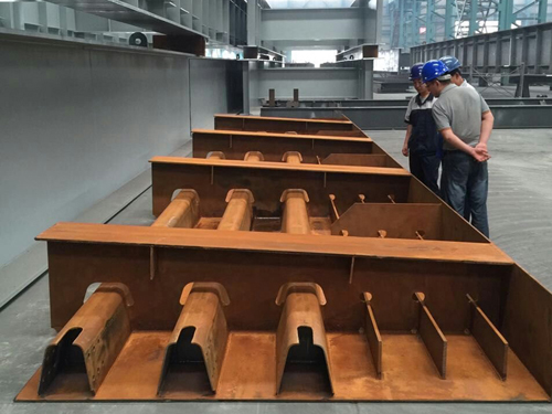 SPA-H corten steel sheets exported 600 tons to Singapore